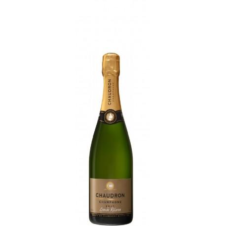 Champagner Chaudron, Grande Reserve Brut 0,75 L, halbe Flasche