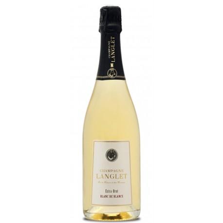 Champagner Langlet, Blanc de Blanc, Extra Brut, 0,75 L
