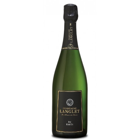 Champagner Langlet, Brut Grand Cru, 0,75 L