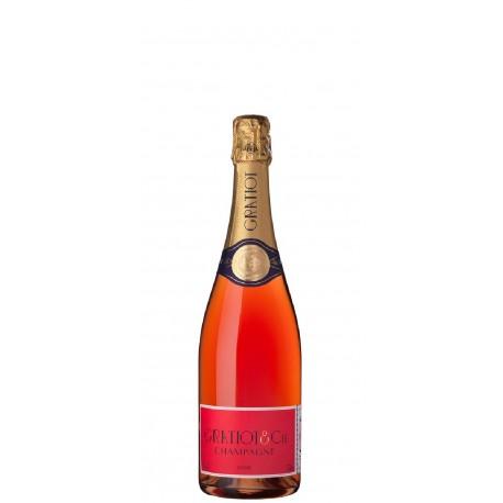 Gratiot & Cie, Almanach No. 3 Brut Rosé. 0,375L halbe Flasche