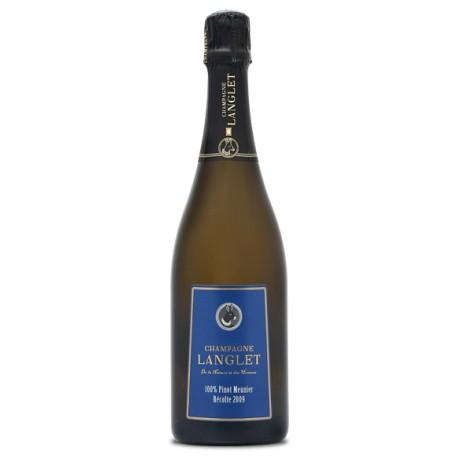 Champagner Langlet, Blanc de Noirs, Extra Brut, 0,75 L
