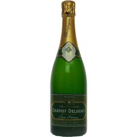 Gratiot Delugny, Brut Sélection. 1,5 L, Magnumflasche