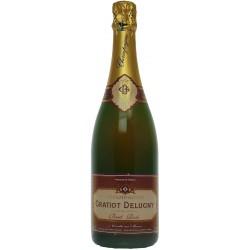Gratiot Delugny, Brut Rosé. 0,75L
